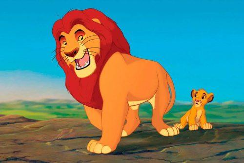 El rey león para colorear