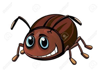 Escarabajos para colorear