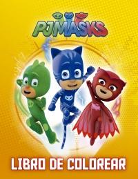 Héroes en pijama para colorear