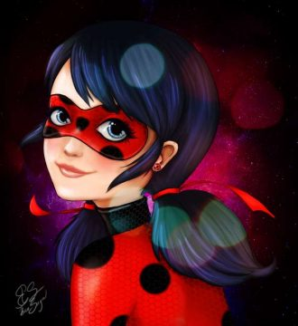 Ladybug para colorear