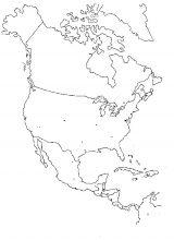América del Norte para colorear (3/53)