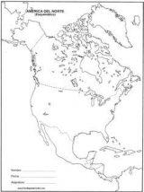 América del Norte para colorear (7/53)