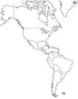 América del Norte para colorear (13/53)