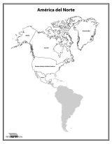 América del Norte para colorear (40/53)