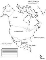 América del Norte para colorear (46/53)