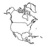 América del Norte para colorear (52/53)