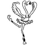Avestruz para colorear (18/32)