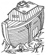 El arca de Noé para colorear (3/16)