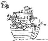 El arca de Noé para colorear (6/16)