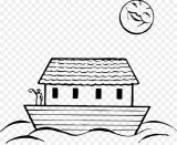 El arca de Noé para colorear (11/16)