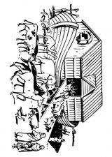 El arca de Noé para colorear (12/16)