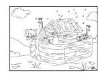 El arca de Noé para colorear (14/16)
