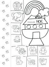 Dibujos del arca de Noé para colorear (1/16)