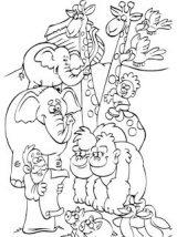 Dibujos del arca de Noé para colorear (2/16)
