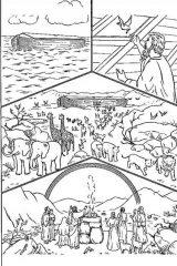 Dibujos del arca de Noé para colorear (3/16)