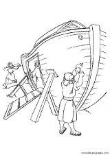Dibujos del arca de Noé para colorear (5/16)