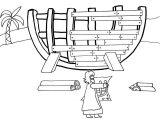 Dibujos del arca de Noé para colorear (7/16)