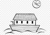 Dibujos del arca de Noé para colorear (8/16)