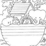 Dibujos del arca de Noé para colorear (10/16)