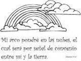 Dibujos del arca de Noé para colorear (14/16)