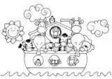 Dibujos del arca de Noé para colorear (15/16)