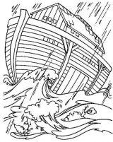 Imágenes del arca de Noé para colorear (1/16)