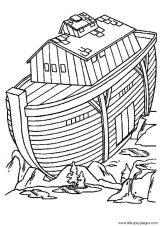 Imágenes del arca de Noé para colorear (2/16)
