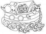 Imágenes del arca de Noé para colorear (3/16)