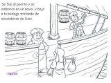 Imágenes del arca de Noé para colorear (5/16)