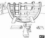 Imágenes del arca de Noé para colorear (6/16)