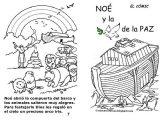Imágenes del arca de Noé para colorear (8/16)