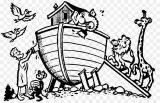 Imágenes del arca de Noé para colorear (9/16)