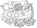 Imágenes del arca de Noé para colorear (10/16)
