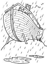 Imágenes del arca de Noé para colorear (14/16)