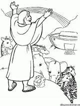 Imágenes del arca de Noé para colorear (15/16)