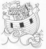 El arca de Noé para pintar (5/16)
