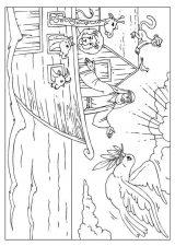 El arca de Noé para pintar (10/16)