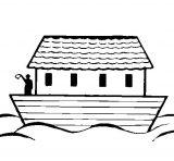 El arca de Noé para pintar (12/16)