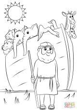 El arca de Noé para pintar (14/16)