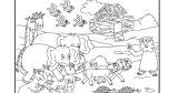 Dibujos de el arca de Noé para niños (2/23)