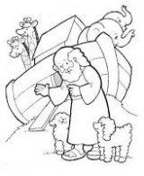 Dibujos de el arca de Noé para niños (3/23)