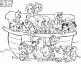 Dibujos de el arca de Noé para niños (4/23)