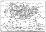Dibujos de el arca de Noé para niños (5/23)