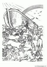 Dibujos de el arca de Noé para niños (7/23)