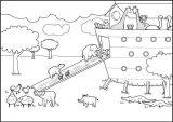 Dibujos de el arca de Noé para niños (11/23)
