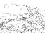 Dibujos de el arca de Noé para niños (18/23)