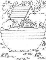 Dibujos de el arca de Noé para niños (22/23)