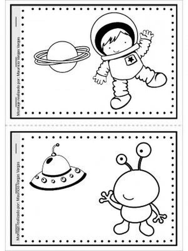 Astronauta Para Colorear Dibujos Para Colorear E Imprimir Online