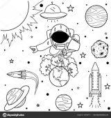 Astronauta para colorear (10/59)