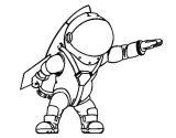 Astronauta para colorear (14/59)